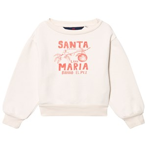 Image of The Animals Observatory Bear Sweatshirt Raw White Santa Maria 8 år (2743712147)