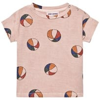 Bobo Choses Basket Ball Baby T-Shirt Off Rose Off Rose