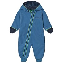 Geggamoja Fleece Overall Blue Blue