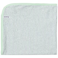 Geggamoja Baby Blanket Light Grey Melange/Mint L.Grey Mel/Mint