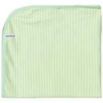 Geggamoja Baby Blanket Soft Green/Yellow Soft green/yellow