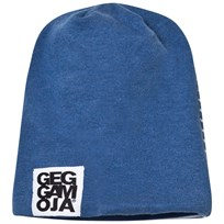 Geggamoja Two Color Hat Marin Melange/White Marin Mel/White