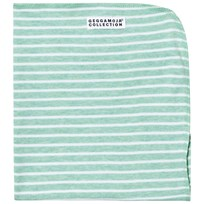 Geggamoja Cuddly Blanket Green Melange/White Green