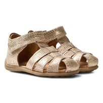 Bisgaard Sandals Gold Gold