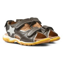 Bisgaard Sandals Grey Black