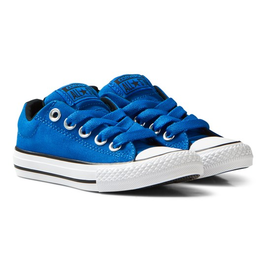 Converse Chuck Taylor All Star Junior Skor Blå Soar/Black/White