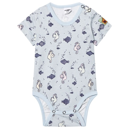 Modéerska Huset Short Sleeve Baby Body Going for a Ride Going for a Ride