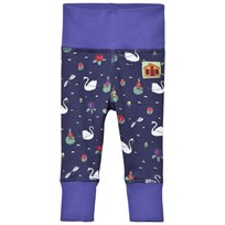 Modéerska Huset Baby Leggings The Swan Lake The Swan Lake