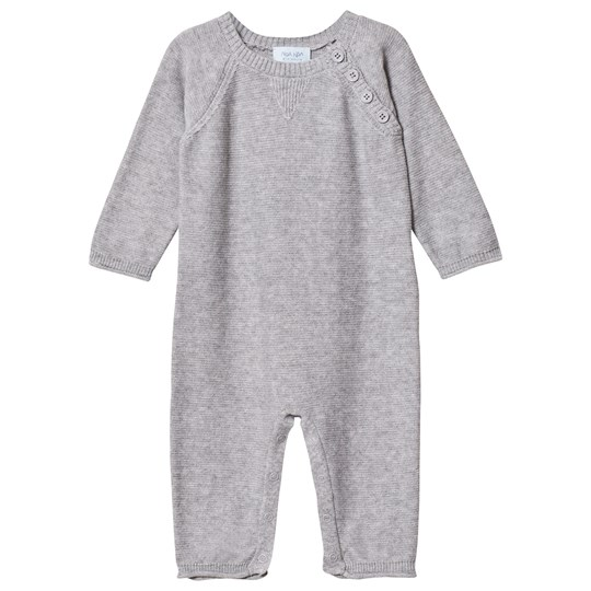 Noa Noa Miniature Basic Cotton One-Piece Grey Melange Grey Melange