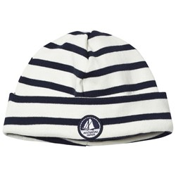 Petit Bateau Hat Offwite And Navy