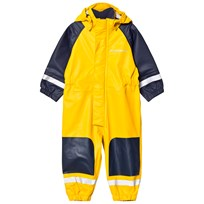 Didriksons Coverman Kid's Regnoverall Gul Yellow
