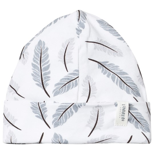 Lindberg Malm Hat Feather White