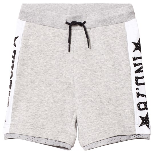 Diesel Branded Basketball Sweat Shorts Grå K963