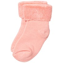MP Terry Bamboo Baby Socks Peach Pink Peach pink