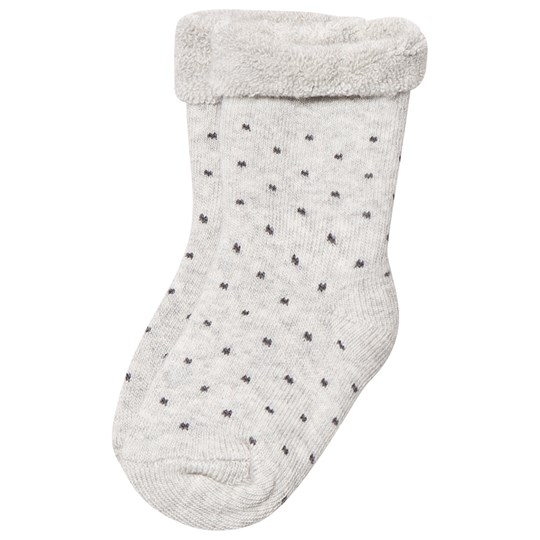 MP Cotton Terry Baby Socks Light Grey Marle Light Grey Marled