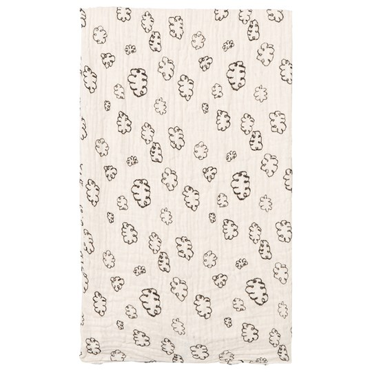 Noe & Zoe Berlin Black Clouds Print Swaddle BLACK CLOUDS