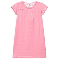 Petit Bateau Nightgown Pink and White PEONY/ECUME