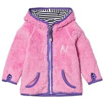 Nova Star Hooded Fleece Jacket Pink Pink