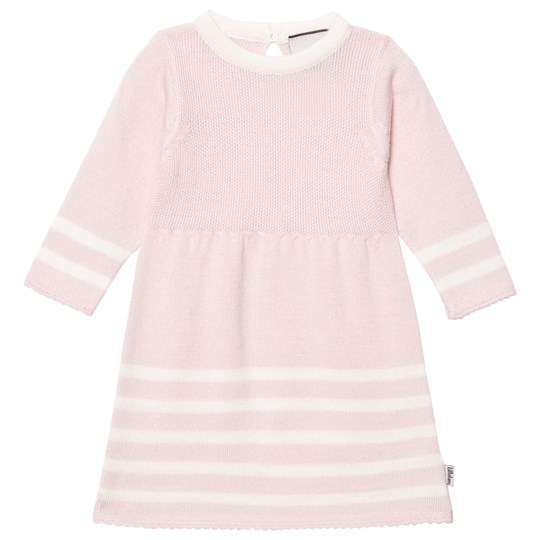 Lillelam Olivia Dress Pink Stripes Pink