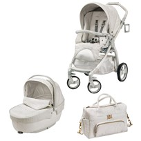Young Versace Young Versace Stroller White Multi