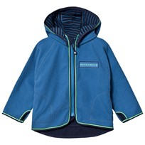 Geggamoja Fleece Jacket Blue Blue