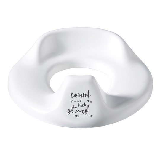Bebe-Jou Toilet Trainer Adjustable Lucky Quotes White White