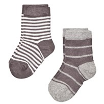 MP 2-Pack Socks Henrik Castlerock Castlerock