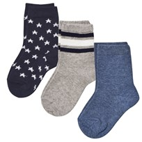 MP Ankle Hubert 3-Pack Navy Navy