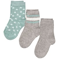 MP 3-Pack Socks Hubert Oxide Green Oxide Green