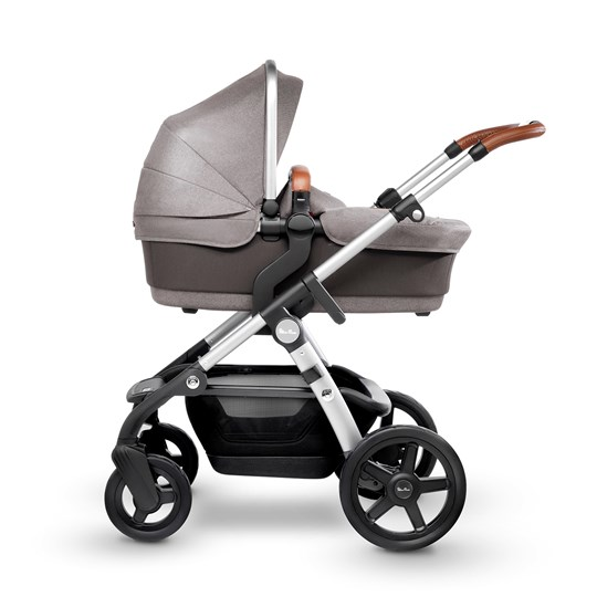 Silver Cross Wave Sable Light Grey Carry Cot/Seat Sable