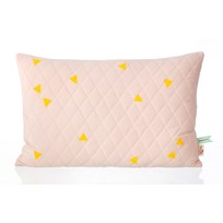 ferm LIVING Teepee Quilted Cushion - Rose Multi