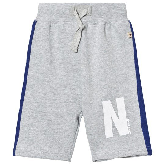Nova Star Cosy Shorts Grey Black