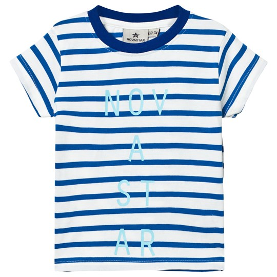 Nova Star Line Tee Off White/Blue Offwhite/blue