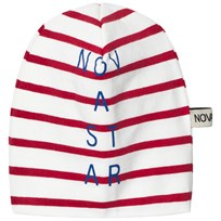 Nova Star Beanie Line Off White/Red Offwhite/red