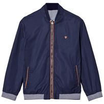 Mayoral Navy Reversible into Check Bomber Jacket 41