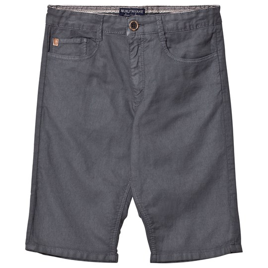 Mayoral Grey Textured 5 Pocket Shorts 87