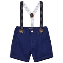 Mayoral Navy Smart Shorts Suspenders 48