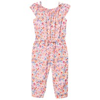 Mayoral Pink Multi Floral Jumpsuit 82