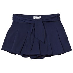 Mayoral Navy Bow Detail Wide Shorts