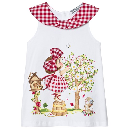 Mayoral Off White Girl and Gingham Dress 93