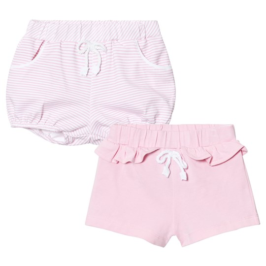 2-Pack Stripe och Solid Jersey Shorts Rosa - Mayoral - Babyshop 42a28dd70d31b