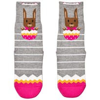 Falke Grey Easter Surprise Catspads Socks 3400