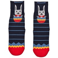 Falke Navy Easter Surprise Catspads Socks 6120