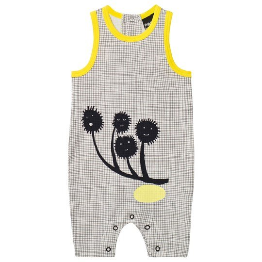 Papu Burr Romper Grey Black