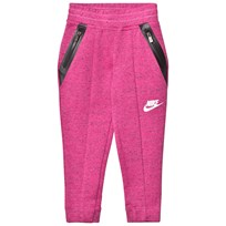 NIKE Pink Tech Fleece Jogging Bottoms A3D