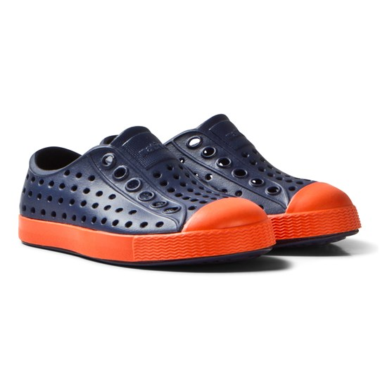 Native Navy and Red Jefferson Rubber Shoes 4213
