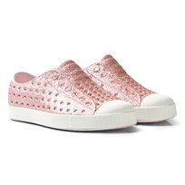 Native Pink Bling Jefferson Rubber Shoes 6805