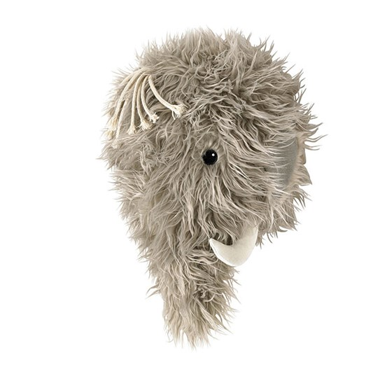 Kids Concept Mammoth Wall Decoration Black