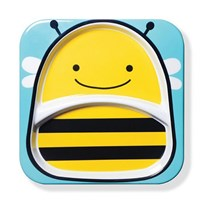 Skip Hop Zoo Plate Bee Multi