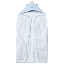 Mayoral Pale Blue Stripe Hooded Ear Towel 36